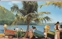 972  - LA MARTINIQUE - SAINTE LUCE- Repos Des Pêcheurs Sur La Plage - Martinique