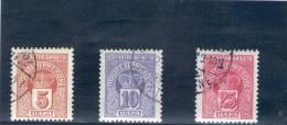 MONTENEGRO 1907 TAXE O - Montenegro