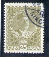 MONTENEGRO 1913 O - Montenegro