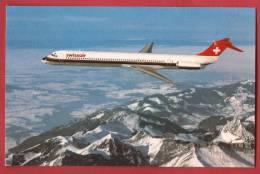 C0728 Swissair McDonnel-Douglas MD-81 Mc Donnel-Douglas.Non Circulé. - 1946-....: Moderne