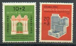 RFA - YT 57-58** / Bund - Verkehrsausstellung Mi. Nr. 171-172** - BRD