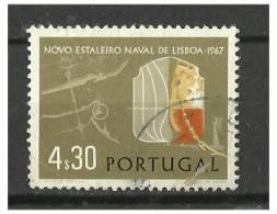 PORTUGAL - Inauguração Do Estaleiro Naval Da Lisnave No Porto De Lisboa - AF1010 - Used Stamps