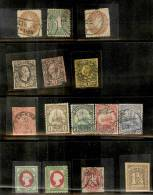 Different Stamps From Sachsen,Kiautschou,helgol And,hamburg Etc. Some Unused - Allemagne