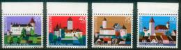 Schweiz  1979  Pro Patria - Schlösser IV  (4 ** (MNH) Kpl. )  Mi: 1156-59 (4,50 EUR) - Suisse