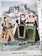 COSTUMI TRADIZIONALI TOSCANI ILLUSTRATA SPRIZZI COSTUMI TIPICI MOLISE CAMPOBASSO CASTELLO VB1957 EC10619 - Costumi