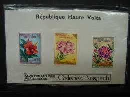 PDG. Cl.4.18. Fleurs De Haute Volta. Club Philatélique Des Galeries Anspach - Haute-Volta (1958-1984)