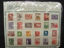 PDG. Cl.4.24. Mélange De 24 Timbres Diiférents Commemoratifs Et Provisoires Danoises. - Used Stamps