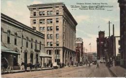 OREGON STREET LOOKING NORTH EL PASO TEXAS  SHOWING THE AMERICAN NATIONAL BANK BUILDING - El Paso