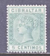 Gibraltar 29  (o)  Wmk CA - Gibraltar