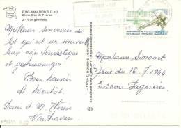 N°Y&T 2544  GRAMAT        Vers  FAGNIERES Le   16 AOUT1988 - France