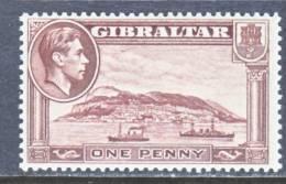 Gibraltar 108  Wmk Sideways  * - Gibraltar