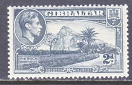 Gibraltar 110  Wmk Sideways  * - Gibraltar
