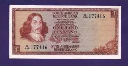 SOUTH AFRICA 1975,   Banknote , USED VF,  1 Rand Wm Van Riebeeck, 115b - South Africa