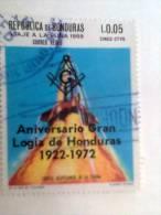 Honduras 1972 Used Gran Lodge Freemasonry Masonic Massoneria - Franc-Maçonnerie