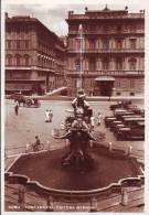 Taxi E Operatori In Grembiule Anni 30  Roma Fontana Del Tritone - Taxi & Carrozzelle
