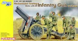 - DRAGON - Maquette Mechanised Towing & Infantry Gun W/Crew - 1/35°- Réf 6261 - Militaire Voertuigen