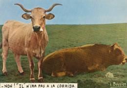 """-NON ! """"IL"""" N´IRA PAS A LA CORRIDA. - LOUIS BUFFIER - N°25 - RARE - - Illustrateurs & Photographes"""