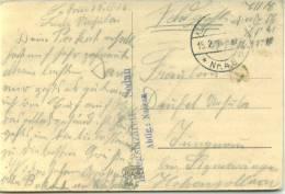 Feldpost 1.WK  KRIEGSLAZARETT  SEDAN ABTLG. NASSAU 1916 - Deutschland