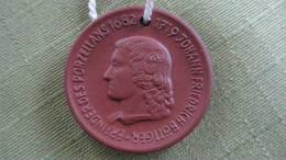 """Sondermünze """"Erfinder Des Porzellans 1682-1719 Johann Friedrich Böttger"""" - Aus Meißner Porzellan - Ohne Zuordnung"""