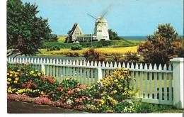 Windmill At Old Mill Point, West Harwich, Cape Cod, Massachusetts - Cape Cod