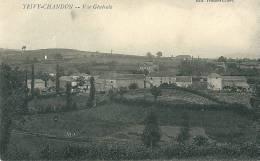 CPA 71 TRIVY CHANDON  VUE GENERALE   Joli Plan - France