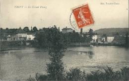 CPA 71 TRIVY CHANDON  LE GRAND ETANG Joli Plan - France