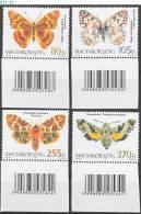 HUNGARY, 2011, Fauna Of Hungary: Moths And Butterflies, MNH (**), Sc/Mi 4202-05 / 5520-23 - Neufs