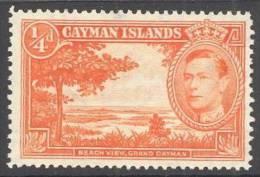 Cayman Islands 104 * George VI. 1938. Charnela - Sin Clasificación