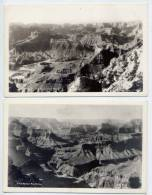 Etats-Unis--Arizona--Grand Canyon---2 Cartes---Vues Aériennes ,Kolb Bros------------------------------------------------ - Grand Canyon