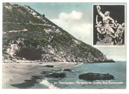 G1721 Sperlonga (Latina) - La Famosa Grotta Del Laocoonte / Viaggiata 1964 - Altre Città