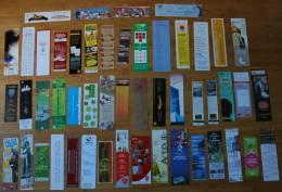 Lot De 50 Marque-pages Différents - Divers - Marque-page - Bookmarks