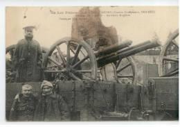 46 - CAHORS - (Guerre Européenne 1914-1915) - Passage De Troupes, Artillerie Anglaise - Cahors