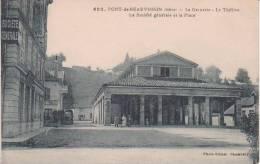 PONT DE BEAUVOISIN La Grenette - Le Théâtre - La Société Générale Et La Place - Altri Comuni