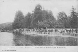 58 CLAMECY, Les Américains à Clamecy, Concours De Natation 15 Août 1918 - Clamecy