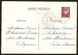 FRANCE  - ENTIER POSTAL  - 1,20F . MARECHAL PETAIN - Entiers Postaux