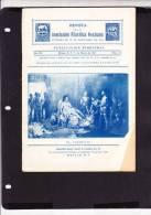 R)1933 MEXICO REVISTA DE LA ASOCIACION FILATELICA MEXICANA  EL TORMENTO 342-363 PAGINAS. - Mexico