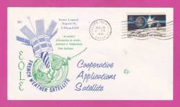 WALLOPS ISLAND VA  AUG 16.1971 FRENCH WEATHER SATELLITE - United States