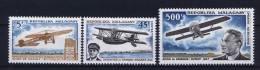 Madagascar , 1967 Michel 566 - 568 MH/*  Airmail