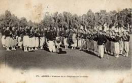 ALGER -Musique Du 1er Régiment De Zouaves - Algiers
