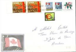 Belle Lettre Philatelique Du Canada, Adressée En Andorre - 1952-.... Regering Van Elizabeth II