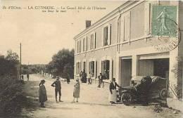 Charente Maritime- Ile D Oleron -ref E854-la Cotiniere - Hotel De L Horizon - Voiture Automobile -carte Bon Etat  - - Ile D'Oléron