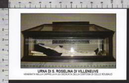 Xsa-10380 URNA DI S. Santa ROSELINO DI VILLENEUVE CERTOSA DI CELLE ROUBAUD DRAGUIGNAN Santino - Religion & Esotérisme