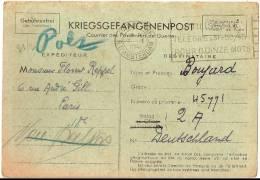 KRIEGSGEFANGENENPOST - COURRIER DES PRISONIERS DE GUERRE - 7.1.1941 - Militaria