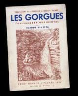 Ramon Vinyeta: Les Gorgues. Collsacabra Occidental. (Publicacions Fundació Massot Palmés Geografia Guies Excursionisme) - Libros, Revistas, Cómics