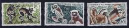 Madagascar , 1961 Michel 470 - 472 MH/*