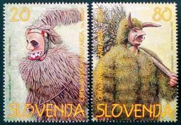 CARNAVAL 1997 - NEUFS ** - YT 164/65 - MI 173/74 - Slovenia