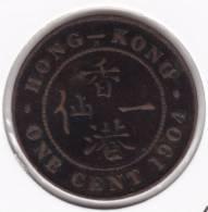 @Y@   Hong Kong  1 Cent 1904    (2030) - Hong Kong