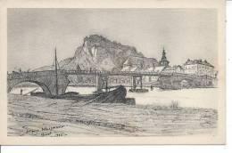 GIVET Et Le Fort De Charlemont, D´après Un Dessin De J. WEISMANN - Givet