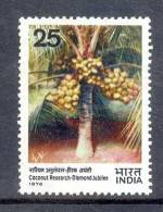 1976 INDIA COCONUT RESEARCH DIAMOND JUBILEE  MINT NEVER HINGED UMM. - India