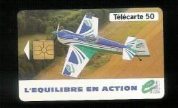 Télécarte  Phonecard France Equilibre En Action Tirage 100 000 - Avions